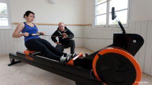 rowing training