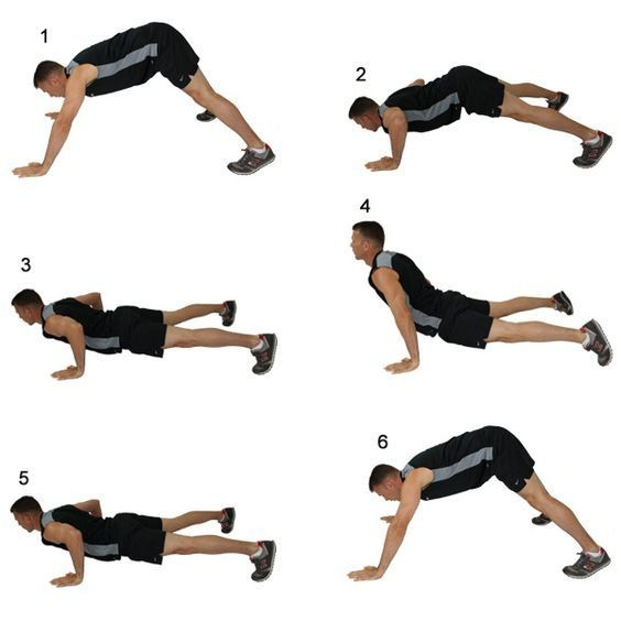 Hindu push-ups (Indian push-ups) - Blog about healthy eating