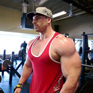 is bradley martyn on steroids